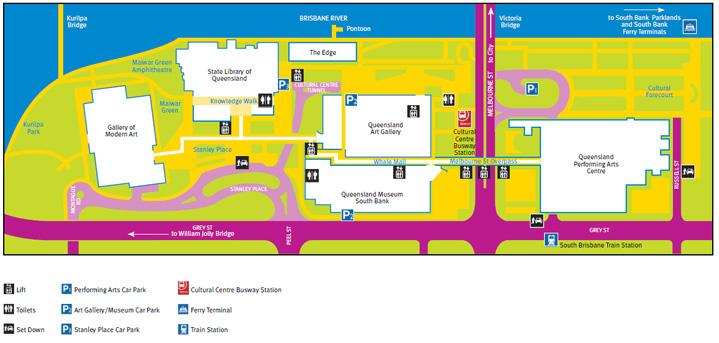 Map cultural centre