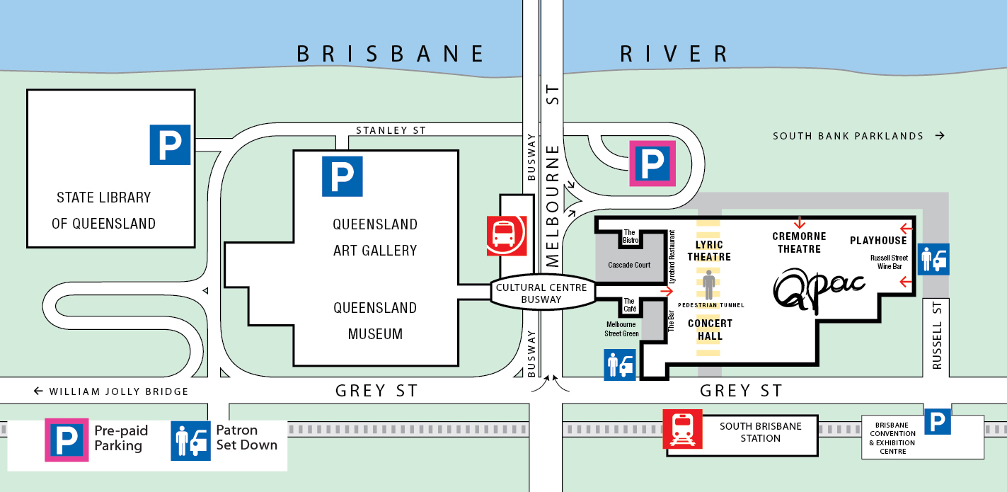 Map of QPAC